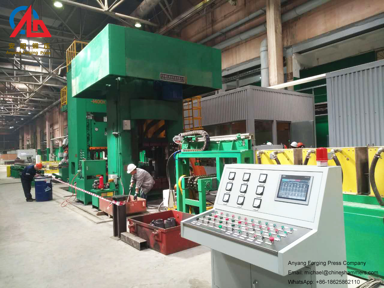 Manual or automatic forging 74