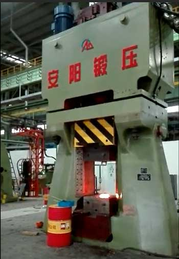 160kj CNC forging hammer in China